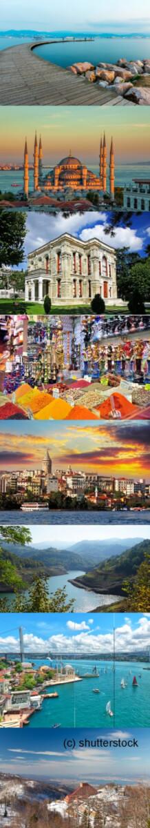 Bilder von Istanbul und Izmit
